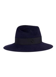 Maison Michel 'Virginie' swirl rabbit furfelt fedora hat