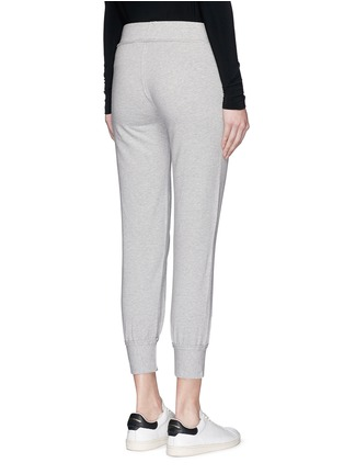 Back View - Click To Enlarge - Norma Kamali - French terry jogging pants