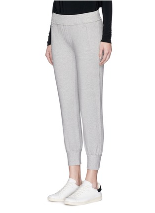Front View - Click To Enlarge - Norma Kamali - French terry jogging pants