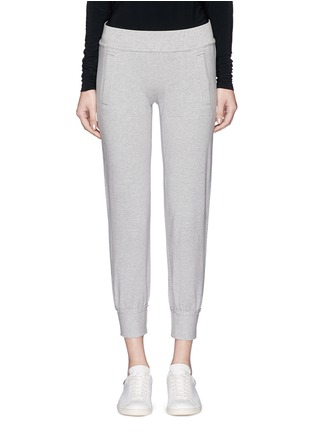 Main View - Click To Enlarge - Norma Kamali - French terry jogging pants