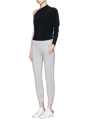 Figure View - Click To Enlarge - Norma Kamali - French terry jogging pants