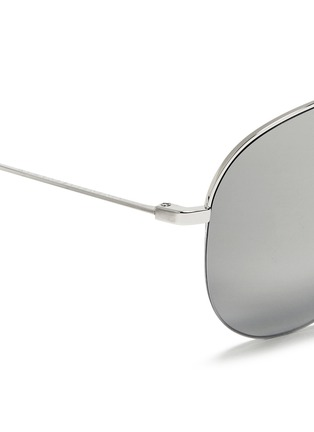 Detail View - Click To Enlarge - Victoria Beckham - 'Classic Victoria' mirror aviator sunglasses