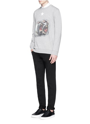 Figure View - Click To Enlarge - Givenchy - Monkey print sweatshirt
