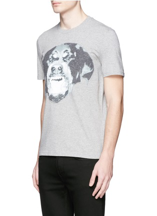 Front View - Click To Enlarge - Givenchy - Rottweiler print T-shirt