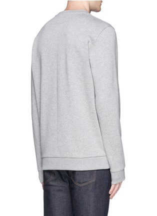 Back View - Click To Enlarge - Givenchy - Rottweiler appliqué sweatshirt