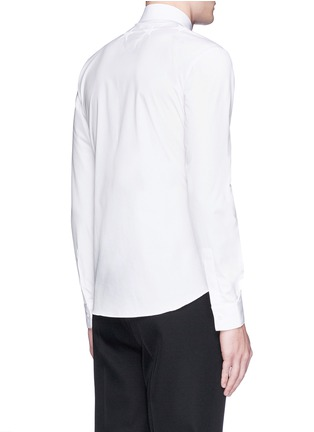 Back View - Click To Enlarge - Givenchy Beauty - Star embroidery cotton poplin shirt