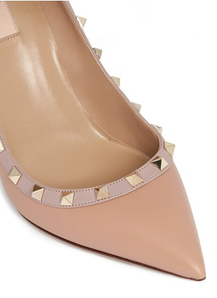 Detail View - Click To Enlarge - Valentino - 'Rockstud' leather pumps