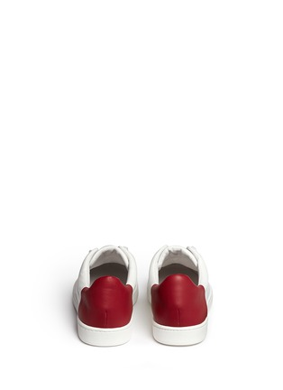 Back View - Click To Enlarge - Vince - Varin' colourblock leather sneakers