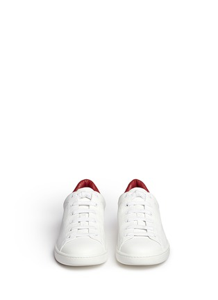 Front View - Click To Enlarge - Vince - Varin' colourblock leather sneakers