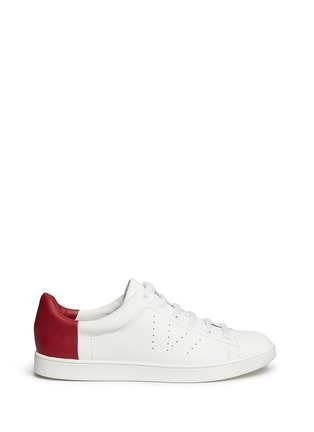 Main View - Click To Enlarge - Vince - Varin' colourblock leather sneakers