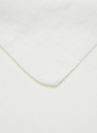 Detail View - Click To Enlarge - SOCIETY LIMONTA - Rem King Size Flat Sheet – White