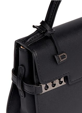 Detail View - Click To Enlarge - DELVAUX - 'Tempête' micro calf leather bag
