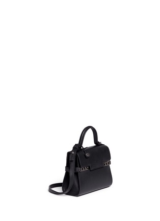 Figure View - Click To Enlarge - DELVAUX - 'Tempête' micro calf leather bag