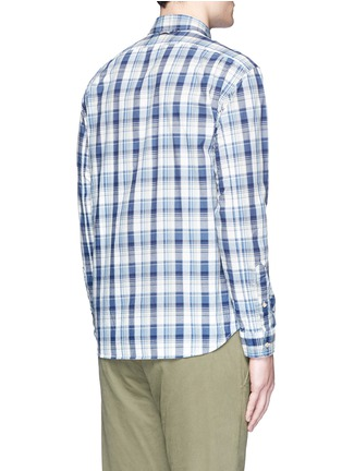 Back View - Click To Enlarge - Alex Mill - 'Cove' plaid cotton shirt