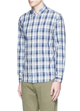Front View - Click To Enlarge - Alex Mill - 'Cove' plaid cotton shirt