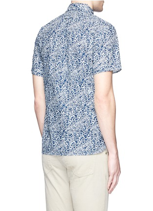 Back View - Click To Enlarge - Alex Mill - 'Floral Reef' print cotton shirt