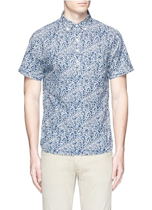 Main View - Click To Enlarge - Alex Mill - 'Floral Reef' print cotton shirt