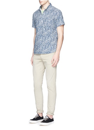 Figure View - Click To Enlarge - Alex Mill - 'Floral Reef' print cotton shirt