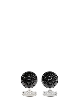 Main View - Click To Enlarge - DEAKIN & FRANCIS  - Jet turbine engine cufflinks