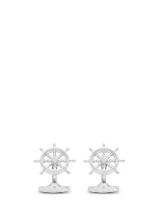 Main View - Click To Enlarge - Deakin & Francis  - Ship steering wheel cufflinks