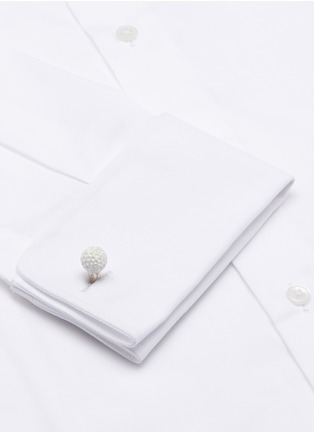 Detail View - Click To Enlarge - Deakin & Francis  - Asymmetric golf ball and club cufflinks