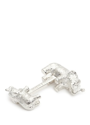 Detail View - Click To Enlarge - Deakin & Francis  - Big and small elephant cufflinks