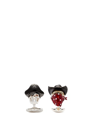 Main View - Click To Enlarge - Deakin & Francis  - Asymmetric pirate and cowboy cufflinks