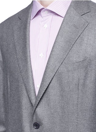 Detail View - Click To Enlarge - Tomorrowland - Loro Piana Sunset® silk-cashmere soft blazer
