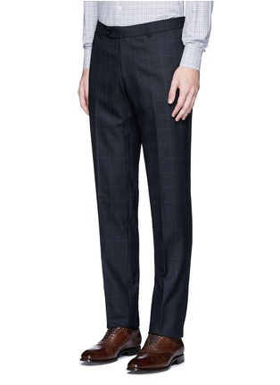 Detail View - Click To Enlarge - TOMORROWLAND - Carlo Barbera® windowpane check wool herringbone suit