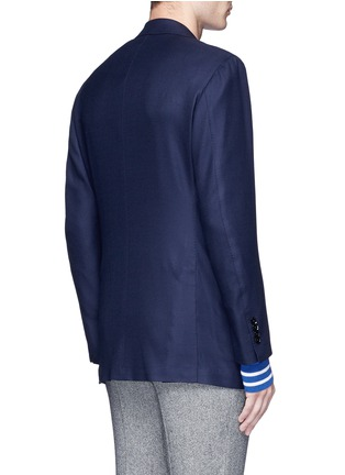 Back View - Click To Enlarge - TOMORROWLAND - Zegna® superfine wool blazer