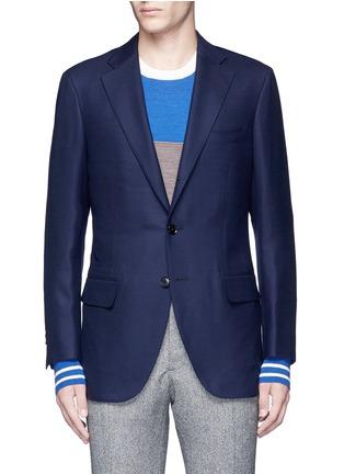 Main View - Click To Enlarge - TOMORROWLAND - Zegna® superfine wool blazer