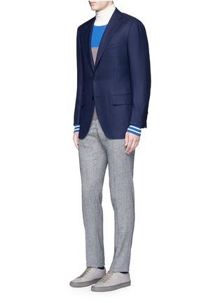 Figure View - Click To Enlarge - TOMORROWLAND - Zegna® superfine wool blazer