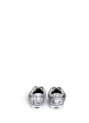 Back View - Click To Enlarge - Vans - 'Chapman' water mark print sneakers