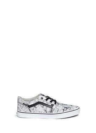 Main View - Click To Enlarge - Vans - 'Chapman' water mark print sneakers