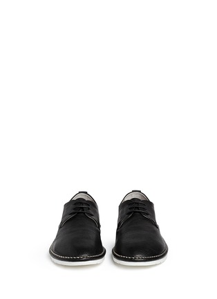 Front View - Click To Enlarge - Marsèll - 'Sancrispa' grainy leather Derbies