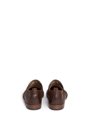 Back View - Click To Enlarge - Marsèll - 'Marsacco' leather slip-ons