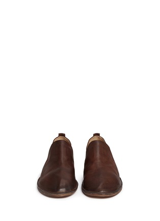 Front View - Click To Enlarge - Marsèll - 'Marsacco' leather slip-ons