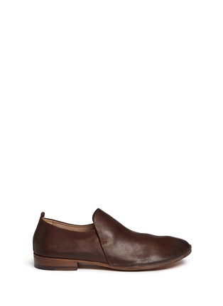 Main View - Click To Enlarge - Marsèll - 'Marsacco' leather slip-ons
