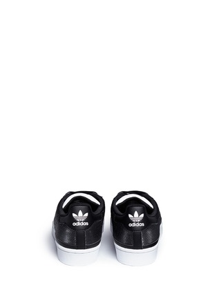 Back View - Click To Enlarge - ADIDAS - 'Superstar' sequin sneakers