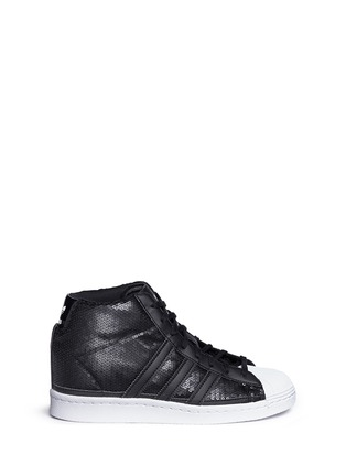 Main View - Click To Enlarge - Adidas - 'Superstar Up' sequin high top sneakers