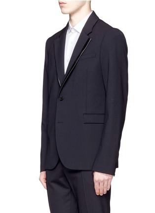 Front View - Click To Enlarge - McQ Alexander McQueen - 'Ghosting Curtis' double lapel blazer