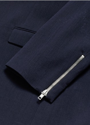 - McQ Alexander McQueen - 'Curtis' notch lapel cotton blazer