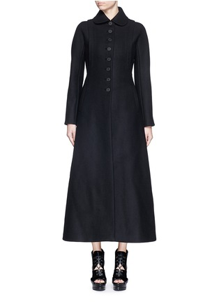 Main View - Click To Enlarge - Alaïa - Split side wool felt long coat