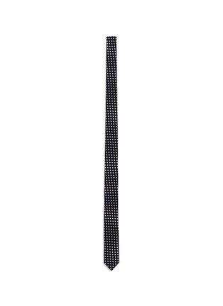 Main View - Click To Enlarge - SAINT LAURENT - Star print skinny tie
