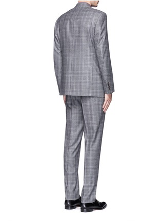 Back View - Click To Enlarge - Canali - 'Contemporary' Glen plaid wool suit