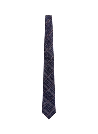 Main View - Click To Enlarge - Canali - Check silk tie