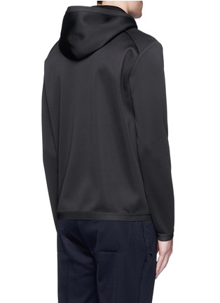 Back View - Click To Enlarge - Theory - 'Ormond PH' scuba jersey hoodie