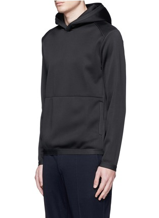 Front View - Click To Enlarge - Theory - 'Ormond PH' scuba jersey hoodie