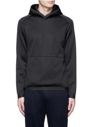 Main View - Click To Enlarge - Theory - 'Ormond PH' scuba jersey hoodie