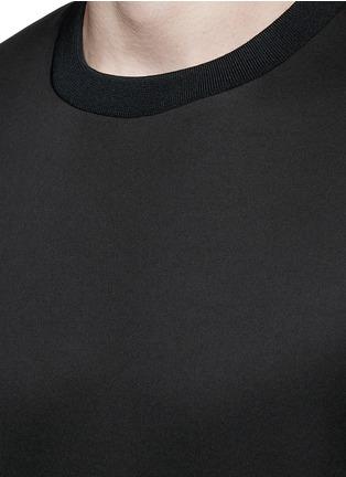 Detail View - Click To Enlarge - Theory - 'Kaj' scuba jersey T-shirt